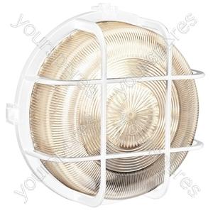 Round White Bulkhead