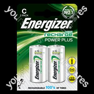 Energizer C 2500mah 2pk Power Plus 635674