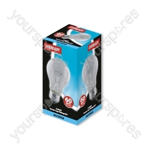 Eveready 60watt Es Clear Gls Eveready