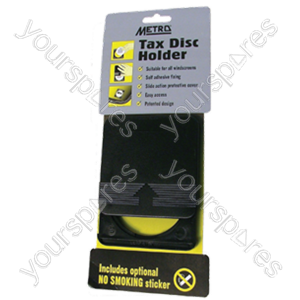 B1142 Metro Tax Disc Holder