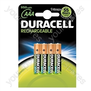 Duracell 1000mah AAA Pk4 060852