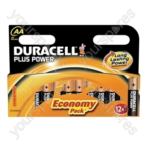 Duracell AA Plus Power B12 017825