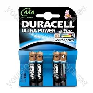Duracell AAA B4 Ultra Power 002692