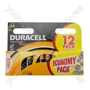 Duracell AA 12pk Basic
