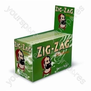 Zig Zag Green (24) 13057067060700