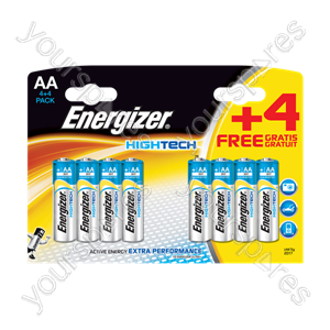 Energizer AA Hi Tech 4+4 632882