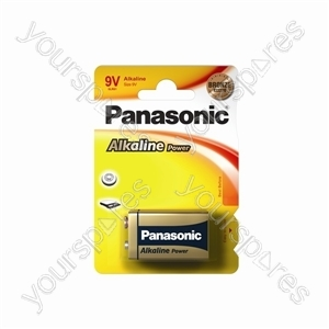 Panasonic Lr22 B1 Bronze Power 6lr61apb/1bp Bronze