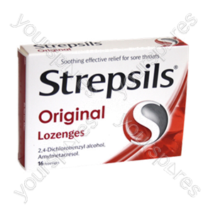 B1137 Strepsils Original 16s