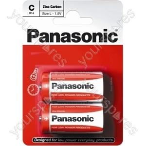 Panasonic C B2 Non Price Zinc R14rz/2bp Eu