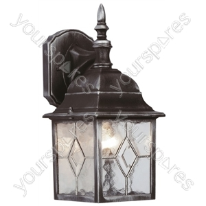 Leaded 4 Sided Lantern