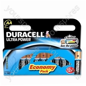 Duracell AA B12 Ultra Power 004030