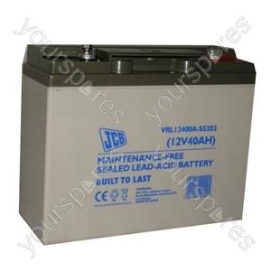 JCB 12 Volt 40 Amp Agm Lp12 - 40