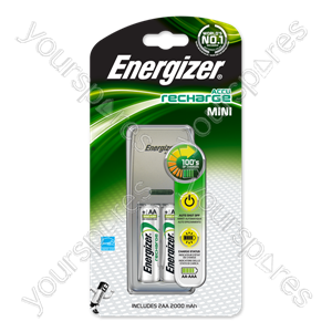 Energizer Mini Uk Plug+2aa 2000mah 635088