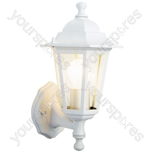 6 Sided White Lantern