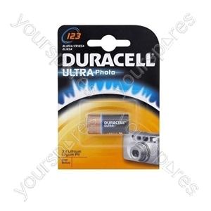 Duracell Cr123 (dl123) 123106 Ean