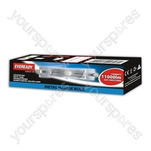 Eveready Rx7s-24 150w Double E Nd Quartz Metal Halide Col 84