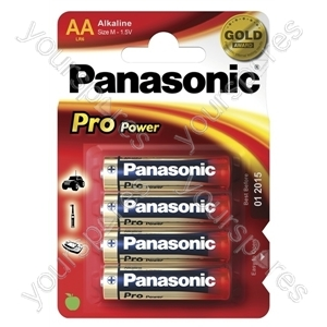 Panasonic Lr6 B4 * Pro *power Lr6ppg/4bp