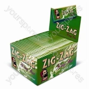 Zig Zag Green King Size Papers