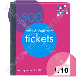 B1726 Cloak Room Tickets 1-500