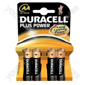 Duracell Plus Power AA B4 017641