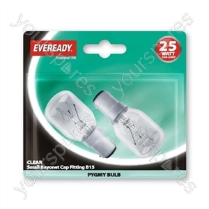 Eveready Pygmy 25wsbc Clr Blx2