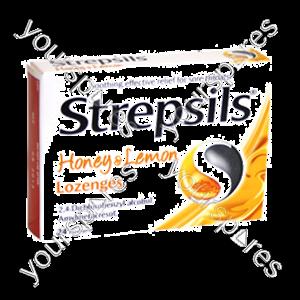 B1135 Strepsils Honey Lemon 16s