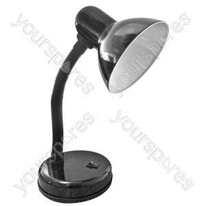 Indoor Desk Lamp Black