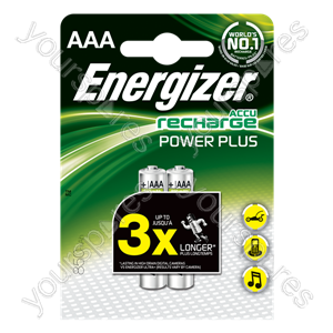 D** Energizer AAA 850mah B2 Power Plus 635177