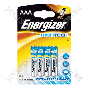 Energizer AAA Hi Tech 4pk 632880