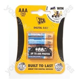 JCB Jcb AAA Digital Alk 4 Pk