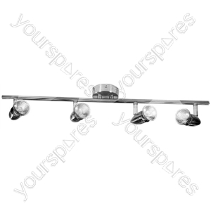 Indoor Basic 4 Spot Bar Chrome