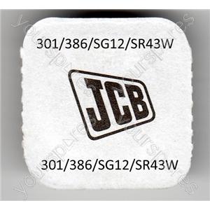 301/386/sg12/sr43w Jcb Silver Oxide