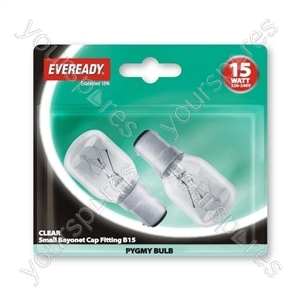Eveready Pyg 15wsbc Clear Blx2
