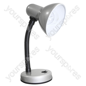 Indoor Desk Lamp Silver