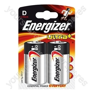 Energizer Ultra D Pk2 632911 Was 624682
