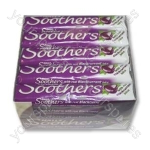 B1108 Halls Soothers Blackcurrant 1 X 20 In A Box