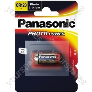 Cr123 Panasonic Cr-123al/1bp