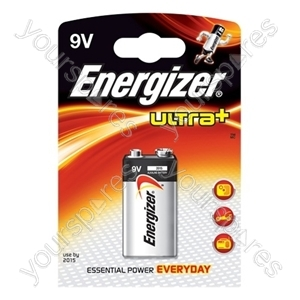 Energizer 9v Ultra 635159 Was 632853