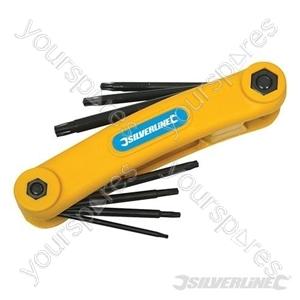 T10 - T40 Key Tool 7pce - T10 - T40
