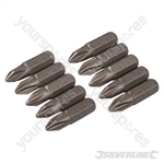 Phillips Cr-V Screwdriver Bits 10pk - PH2