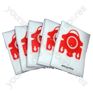 Miele Vacuum Cleaner Dust Bags Type FJM x 5 + 2 Filters 3D Efficiency