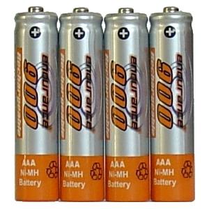 Endurance AAA Rechargeable Batteries