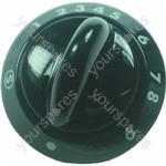 Parkinson Cowan Black Main Oven Control Knob