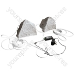 Eagle Bluetooth Garden Speaker Kit - Colour Grey