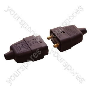 2 Way 10 A In-line Impact Resistant Connector