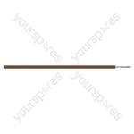 Brown 2 Core 16 Strand Equipment Wire - 500m Reel - Colour Brown