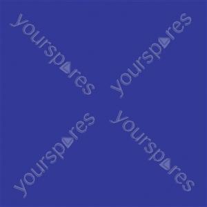 """Coloured Gel Sheet 48""""x21"""" - Colour Dark Blue 119"""