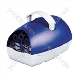 Party Time Battery Operated Bubble Machine  - Colour Blue