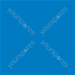 "Coloured Gel Sheet 48""x21"" - Colour Light Blue 118"