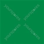 """Coloured Gel Sheet 48""""x21"""" - Colour Dark Green 124"""